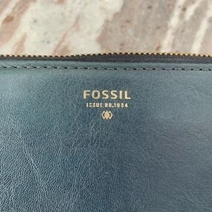Fossil Bags - Fossil 1954 Leather Zip Around Wristlet Wallet